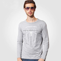 Wholesale top quality long sleeve t shirt clothes