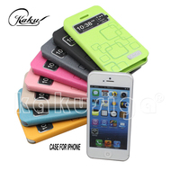 KAKU professional leather cover case for samsung galaxy pocket from China supplier
