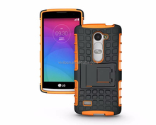 For lg leon c40 mobile phone high quality pc+tpu plastic back cover case