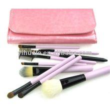 EVAL light purple series professional make up brush set