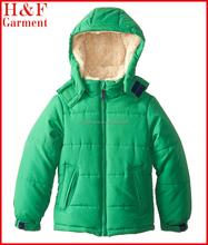 Bébé garçons vêtements avec capuche pour l'hiver en plein air vêtements fabriqués en chine