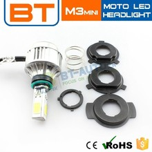 M3 Mini Tiny Base 2000lm Led Motorcycle 9v-36v Light Available Headlight H6+H4+PH7+PH8
