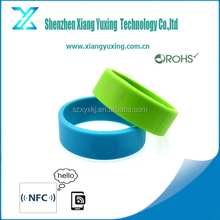 OEM children tracking rfid wristband/customized silicone rfid wristbands