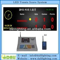 New design led digital tableau de board tennis scoreboard scorer