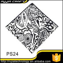 100 cotton black handkerchief, cheap handkerchiefs with lower MOQ
