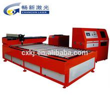 Usado máquina de corte a laser corte de aço / metal laser cortador cnc