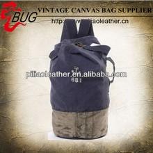 Hot sale popular hand painter canvas back pack bag 2013