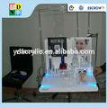 alto grau de escova de dentes de acrílico display feita na china por atacado com preço de alta qualidade