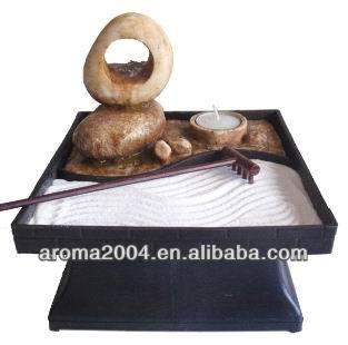 fuente de agua de bamb mini jardn zen ueueue