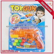 Funciones 2 pistola de ping - pong y pistola pistola de agua en un solo artículo