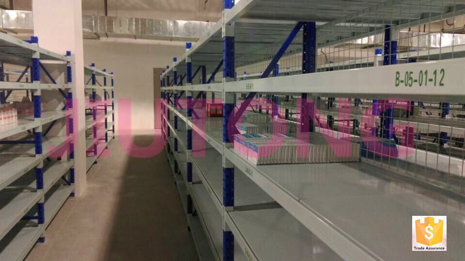 Iso9001 стали среднего полка малой грузоподъемности склад стойки для хранения