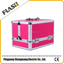 Wholesale Professional Makeup Suitcase Beauty Cosmetics Box
