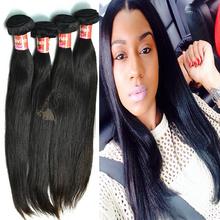 2015 wholesale peruvian virgin remy human hair straight hair