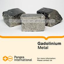 High purity Rare Earth Metals - Gadolinium Metal La 99.9% raw material