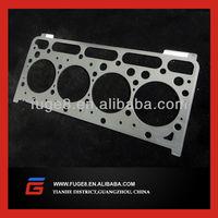 Kubota diesel engine part V2203 head gasket metal