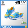 HOBIBEAR 2015 wholesale mesh breathable velcro trainers shoes fashion kid air sport shoes