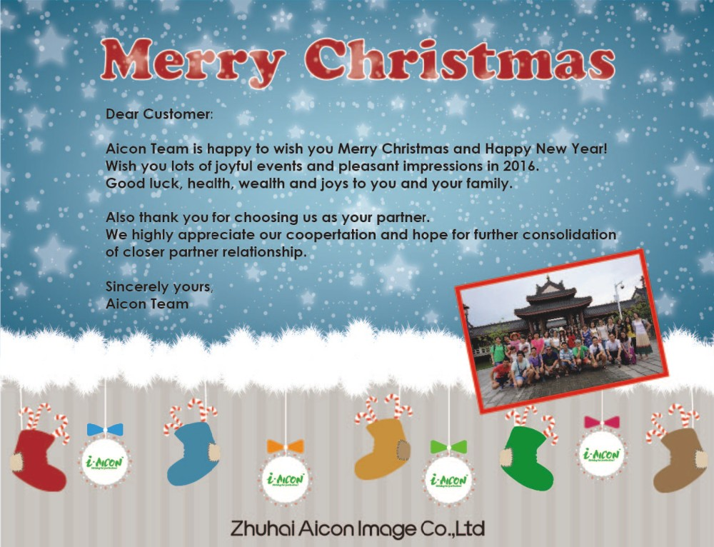 Aicon Team is happy to wish you Merry Christmas!