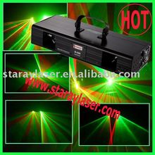 Double Lens red and green and yellow laser projector
