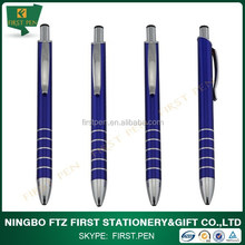 Lacquer Finish Metal Body Ballpoint Pens