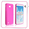 Beautiful Color Soft Silicone TPU Gel Mobile Phone Case For LG L80 D370 D380 383 W6 Phone Case