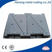 Anti-Theft and Anti Corrosion rectangular manhole covers/ductile iron manhole cover