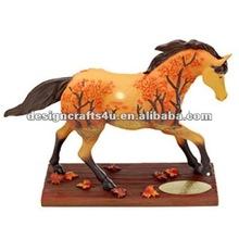 decorative horse figurines resin