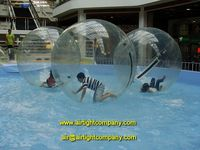 Inflatable Water Walking Ball with Reinforced Soft Handle CE EN15649