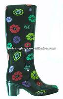 Nice Design Lady's PVC rain boots