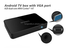 hddmedia player box Support MicroSD(TF) Up to 32GB android tv box full hd media player 1080p