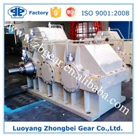 OEM Precise Grear Bearing Capacity Hard Tooth Helical Gear Reducer