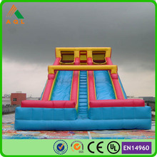 hot deals pvc largest inflatable water slide inflatable double lane slip slide price