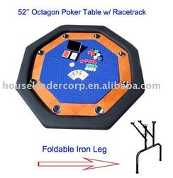52'' Octagonal Poker Table