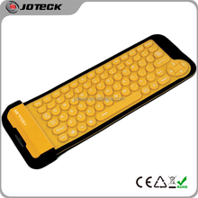 79 keys folding silicone rubber keyboard with 2015 latest computer keyboard mold