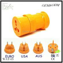 2015 International Travel Universal Adapter Electrical Plug For UK/US/EU/AU to EU European Socket Converter