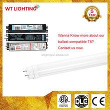 4000k 5000k natural white 2ft led tube light fixture