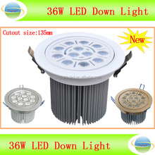 high power 36w 220V very bright cheap led ceiling light with plastic ceiling light covers
