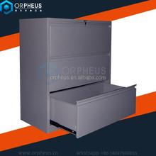 Office furniture 3 drawer steel file cabinet steel storage drawer cabinet