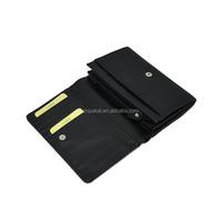 Women cheap pu trend leather magic wallet