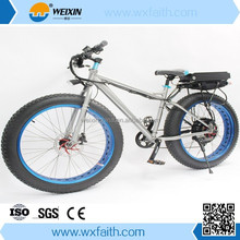 Super Fashion Latest Off Road 48V 1000W 18Ah &1500W 24Ah Super Electric Mountain Fat Tire Bicycle