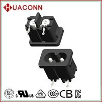 88-08A0B15S-P10 design useful black dual usb socket adapter