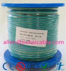 Copper conductor Green Yellow 4/6mm2 Solar Earthing cable /Solar earth wire/cable