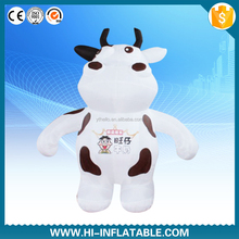 Inflatable Cartoon Animal, Advertising Inflatable Walking Cow, Inflatable Moving cow Costume