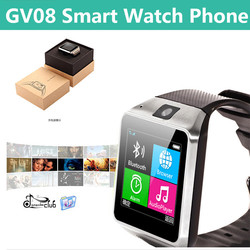 """New products 2015 1.54 """" smart watch mobile phone price in pakistan gv08"""