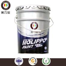Saleable rainbow acrylic paint for metal surfaces