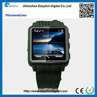 Promotion wrist watch Bluetooth Fashion Watch Mobile Phone