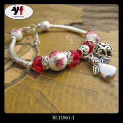 Chinese Style Alloy Angel Pendant Positive Energy Bracelets