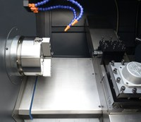 New condition Box type slant bed CNC lathe tailstock