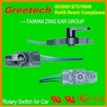 4 pole 3 position rotary switch,rotary switch knob, rotary switch for car