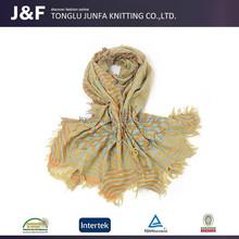 Soft warm lady china custom wholesale air hostess scarf
