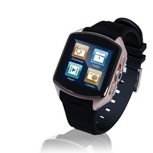 4GB memory dual core 1.2GHZ Android 4.4 Smart Watch Mobile Phone Smartphone Support 3G WCDMA GSM WIFI GPS 2.0M Camera
